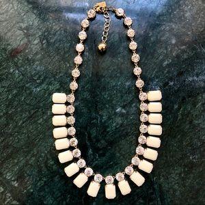 Kate Spade ivory gem necklace
